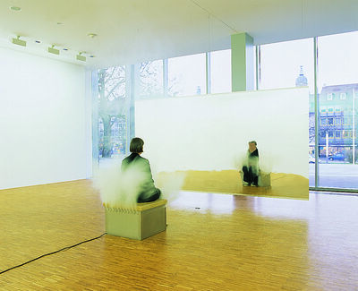 Jeppe Hein, 'Smoking bench', 2003