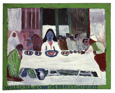 William Hawkins, 'Last Supper #4', 1986