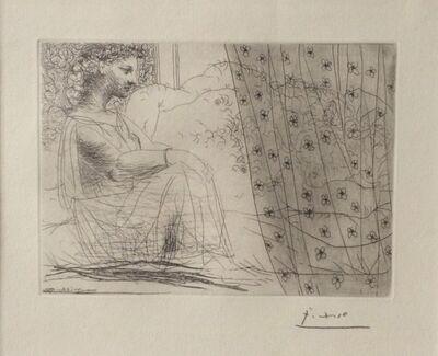 Pablo Picasso, 'Minotaure Endormi Contemple Par Une Femme From the Vollard Suite 1933', 1933