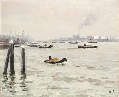 Marcel Dyf, 'Rotterdam Harbo'