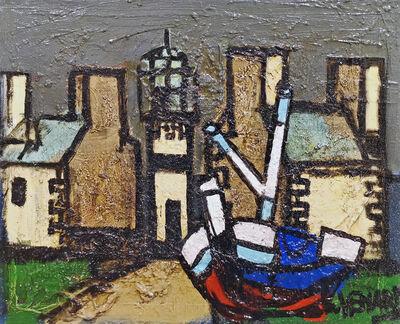 Claude Venard, 'Le port Breton', 1960-1990