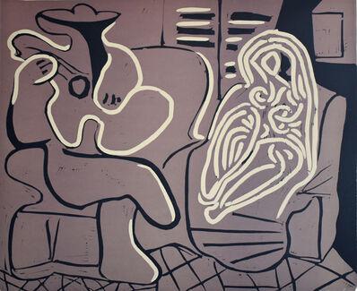 Pablo Picasso, 'Woman in an Armchair with a Guitarist | Femme dans un Fauteuil et Guitariste', 1959