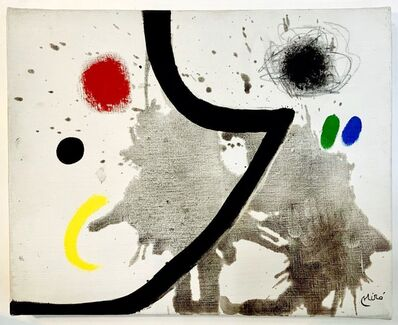 Joan Miró, 'PEINTURE', 1970