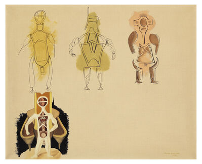 Victor Brauner, 'Racines Eblouissantes', 1933