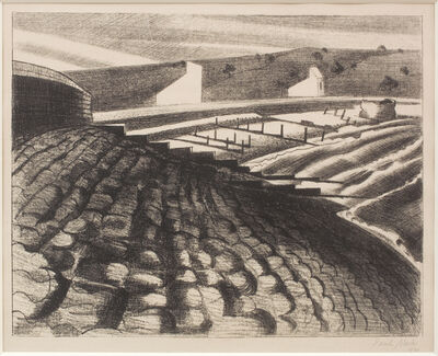 Paul Nash, 'The Strange Coast (Dymchurch)', 1920