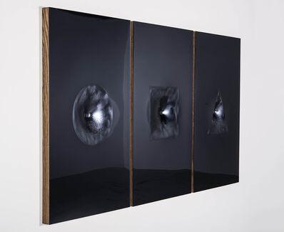 Sinisa Kukec, 'VITRUVIANSLUTS (in silver) a gravitywell', 2014