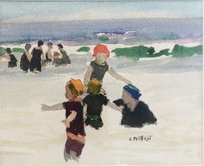Edward Henry Potthast, 'Playtime (Beach Scene)', 1896-1927