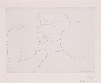 Henri Matisse, 'Jeune femme dormant prés d'un bocal', 1929