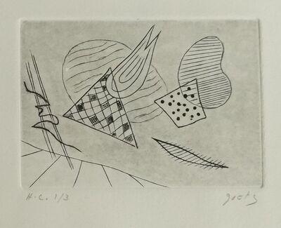 Henri Goetz, 'Abstract composition', 1950