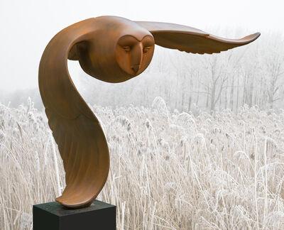 Evert den Hartog, 'Flying owl (Vliegende Uil)', 2018