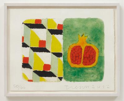 Joe Tilson, 'Stones of Venice Pomegranata, Diptych', 2012