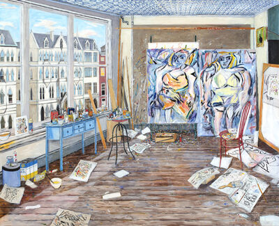 Damian Elwes, 'Willem de Kooning's Studio (New York, 1952)', 2019