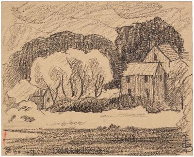 Oscar Bluemner, 'BLOOMFIELD DE 30-17', 1917