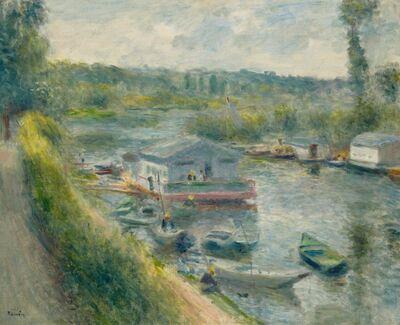 Pierre-Auguste Renoir, 'Wash-House Boat at Bas-Meudon', ca. 1874