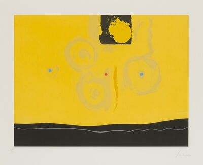 Helen Frankenthaler, 'Plaza Real', 1987