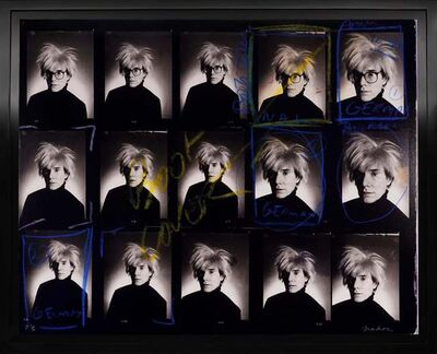 Christopher Makos, 'Andy Warhol Contact Sheet', 2020