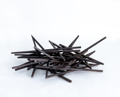 Bernar Venet, 'Effondrement: 24 Angles', 2015