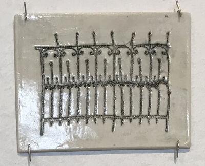 Jennifer Johnson, 'Powelton Village Iron Fence Tile 6'