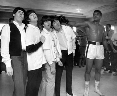 Harry Benson, 'Ali Hits George, Beatles, Miami', 1964