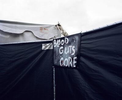 Lisa Kereszi, 'Blood Guts Gore, Haunted House, New Jersey', 2005