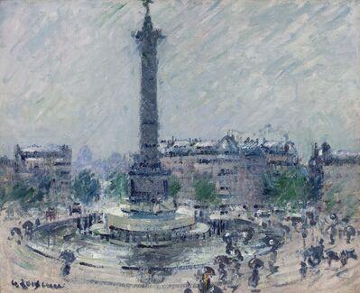 Gustave Loiseau, 'Place de la Bastille', ca. 1922