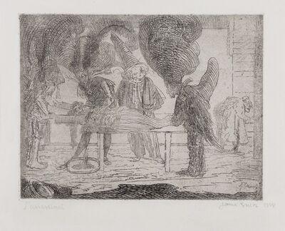 James Ensor, 'L'Assassinat (Delteil 28, Croquez 38, Elesh 38, Taevernier 38)', 1888