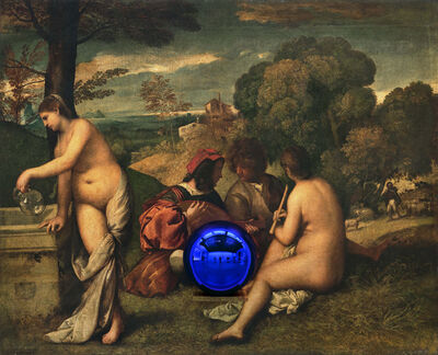 Jeff Koons, 'Gazing Ball (Titian Pastoral Concert)', 2016