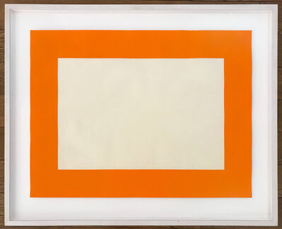 Donald Judd, 'Cadmium Yellow Deep', 1988-1990