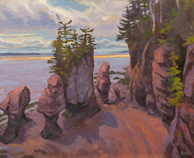 Réjean Roy, 'Hopewell Rocks', 2019