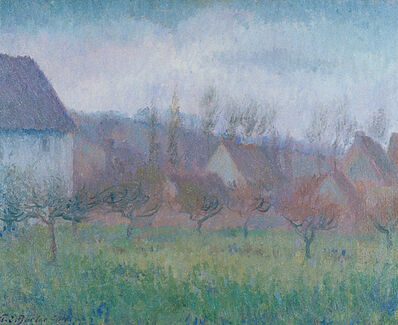 Theodore Earl Butler, 'Farm Orchard in Winter', 1904