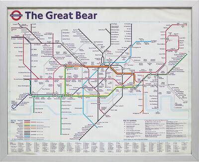 Simon Patterson, 'The Great Bear', 1992