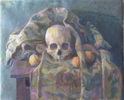 Wilbur Niewald, 'Skull with Dried Oranges', 2016