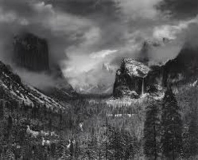 Ansel Adams, 'Clearing Winter Storm', 1938