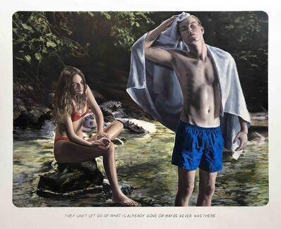 "Muntean & Rosenblum, 'Untitled (""They can't let go…"")', 2020"