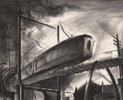 Benton Spruance, 'Out of the City ', 1930