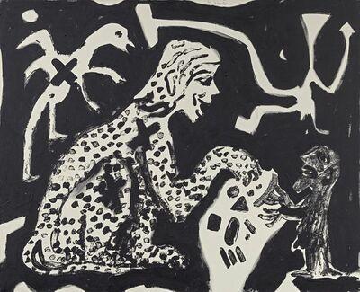 A.R. Penck, 'Folge und Konsequenz', 1991