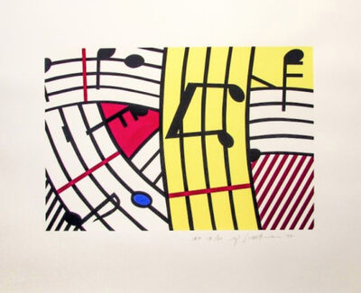 Roy Lichtenstein, 'Composition IV (C. 293)', 1995