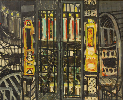 Paul Resika, 'The Subway', 1947
