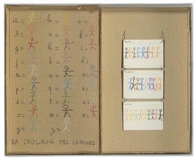 Robert Filliou, 'La couleur des Langues', 1973