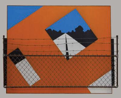 Allan D'Arcangelo, 'Guard Rail', 1964