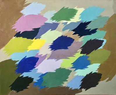Edgar Heap of Birds, 'Neuf Painting, no. 2', 2012