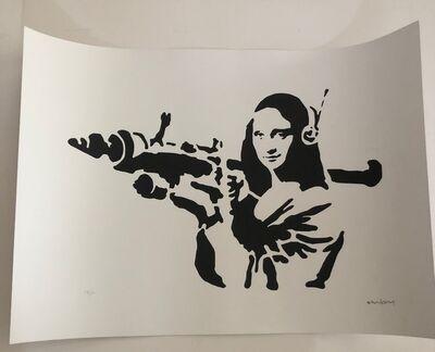 After Banksy, 'Rocket Mona Lisa', 2016