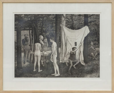 David Becker, 'Union Grove Picnic', 1975