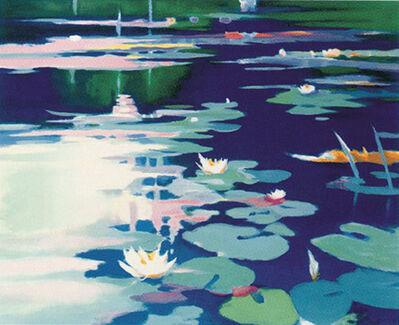 Tadashi Asoma, 'Lilies Afloat', 1996