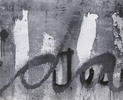 Aaron Siskind, 'Yuchitan', 1955