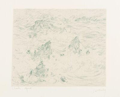 Claude Monet, 'Tempête à Belle-Île', 1892
