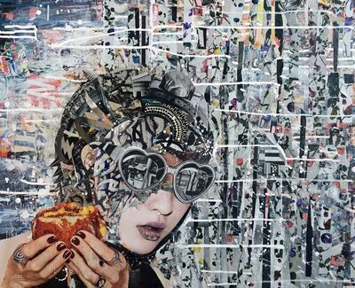 "Katy Hirschfeld, '""Alter Ego 2""', 2015-2017"