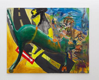 Albert Oehlen, 'Walker (Albert Oehlen, Andre Butzer, Schorsch Kamerun)', 1999