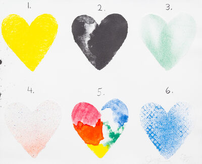 Jim Dine, 'Dutch Hearts', 1970