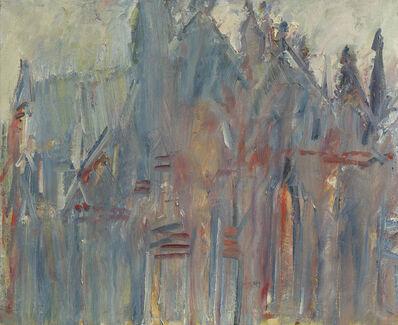 Dennis Creffield, 'Salisbury Cathedral West End', 1988